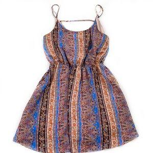 Everly • Printed Sleeveless Dress
